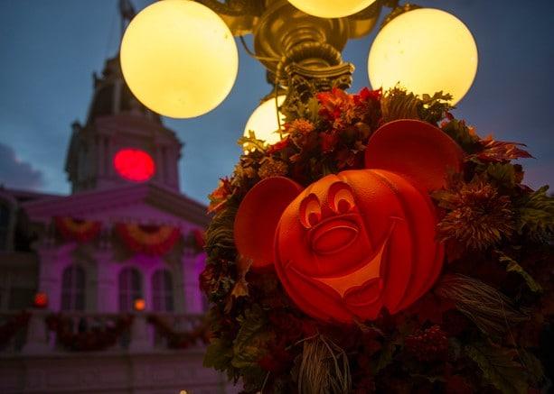 Halloween Decor Now Haunts Magic Kingdom Park