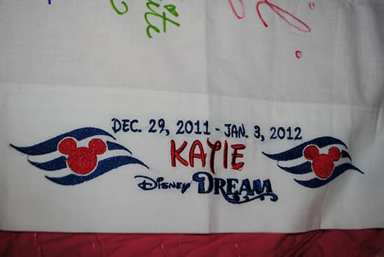Disney cruise christmas gift