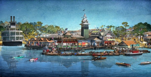 Approved Rendering THE BOATHOUSE Waterfront View 1