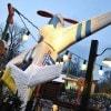 Disneyland Park Paris Covered in Real Snow