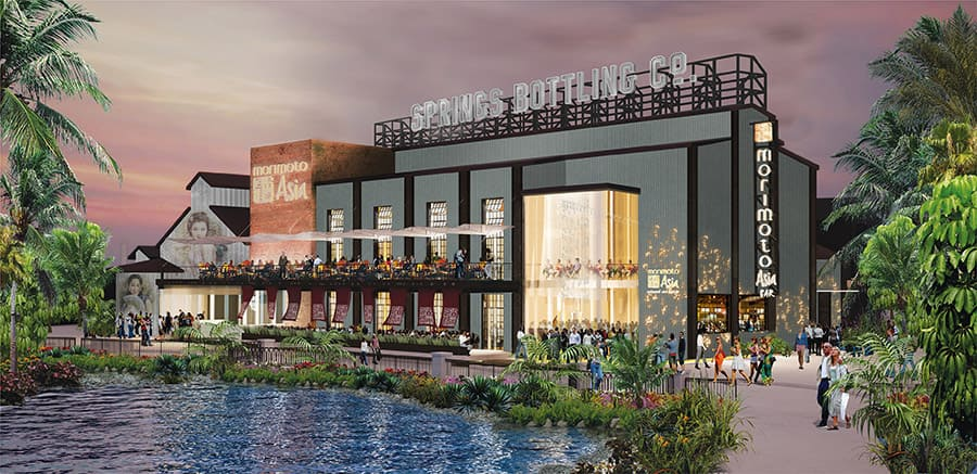 Morimoto Asia Boathouse Dining Experiences Coming To