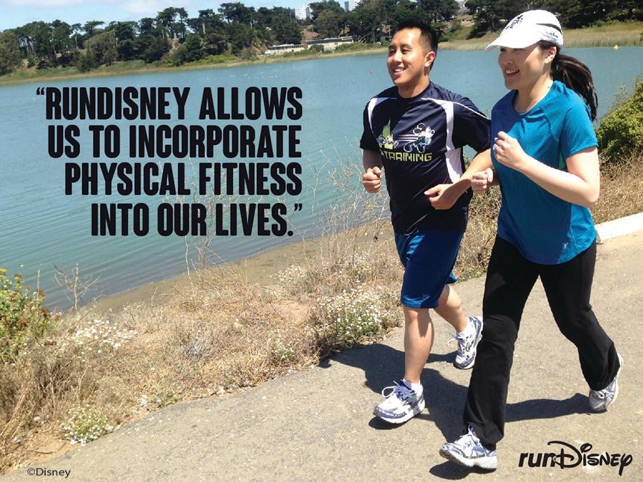 A runDisney Love Story at the Disneyland Half Marathon