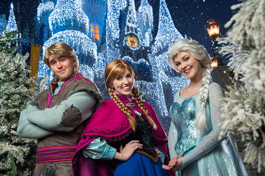 Frozen Christmas.A Frozen Holiday Wish For Magic Kingdom Park Disney Parks