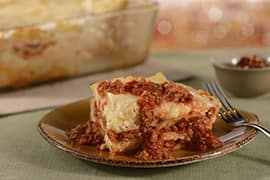 Lasagna Bolognese at New Trattoria al Forno at Disney's BoardWalk