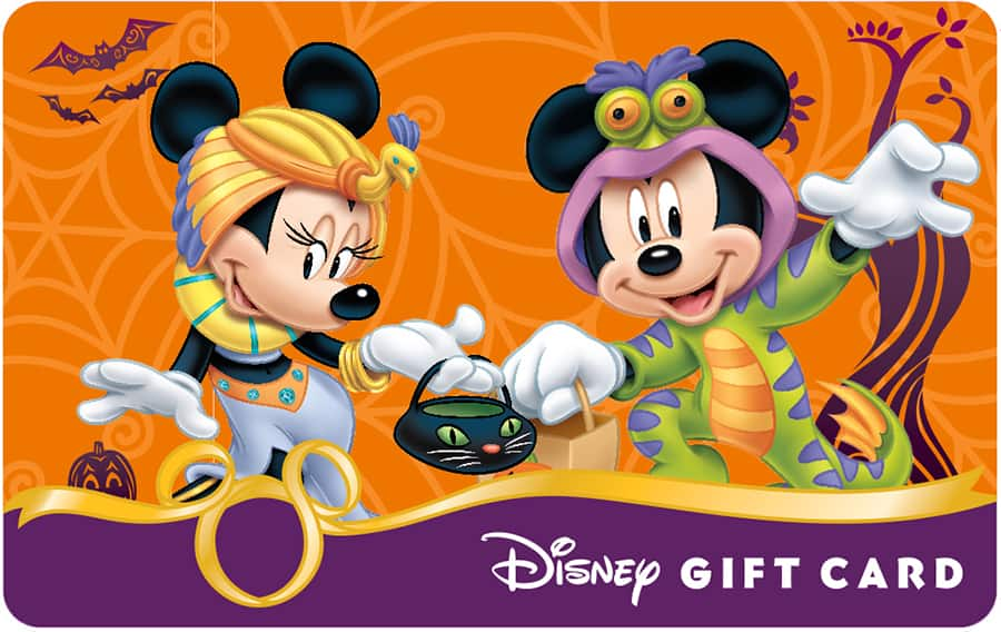 Celebrate Halloween with New Disney Gift Card Designs   Disney Parks ...