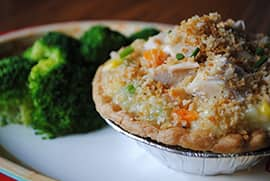 Chicken Pot Pie from Columbia Harbour House at Magic Kingdom Park