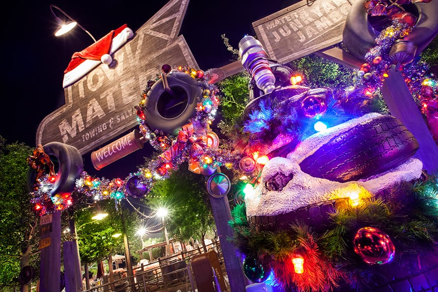 Holidays Shine Bright in Cars Land at Disney California Adventure ...