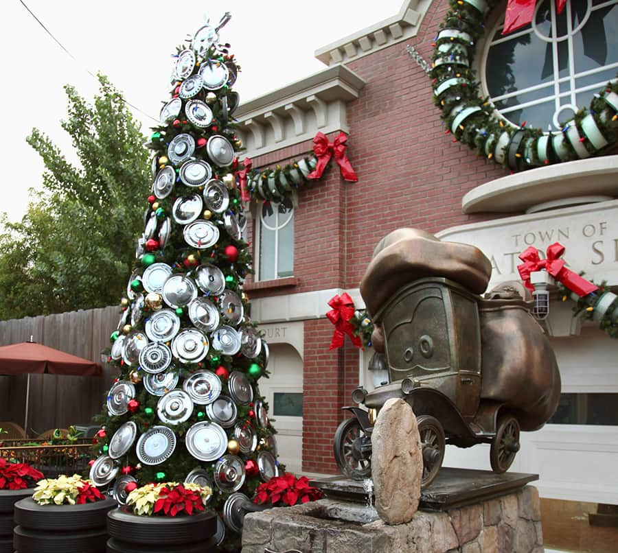 Disney Cars Christmas Decorations.Christmas Trees Of The Disneyland Resort Disney Parks Blog
