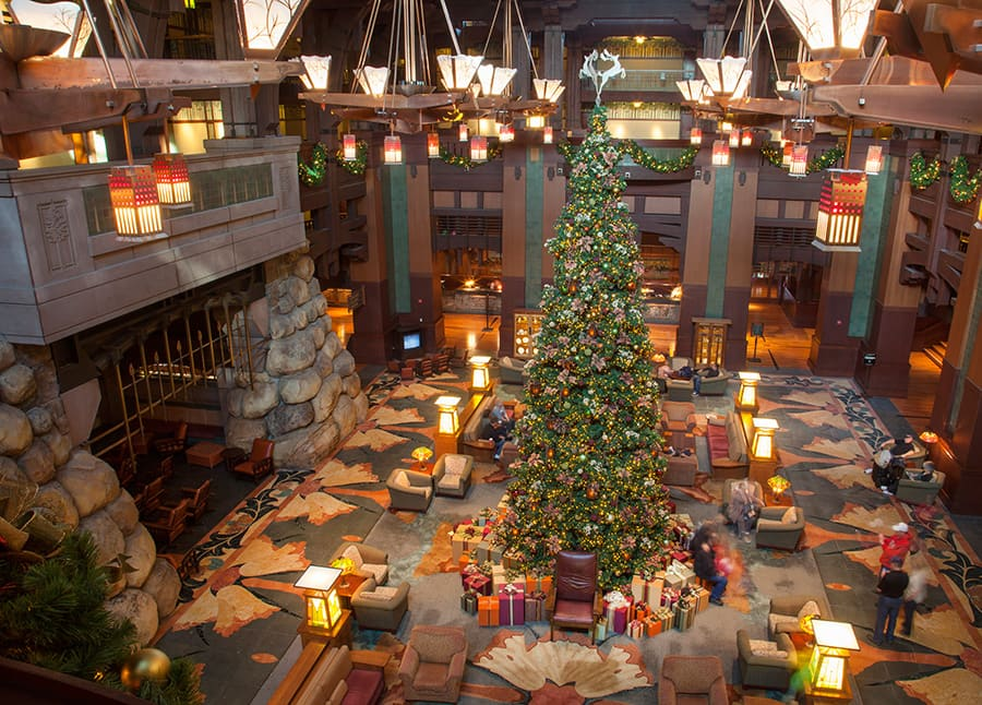 Christmas Trees of the Disneyland Resort