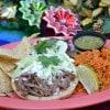 Sopes De Barbacoa at Paradise Garden Grill at Disney California Adventure Park