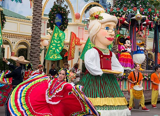 'Disney ¡Viva Navidad! Street Party' at Disney California Adventure Park