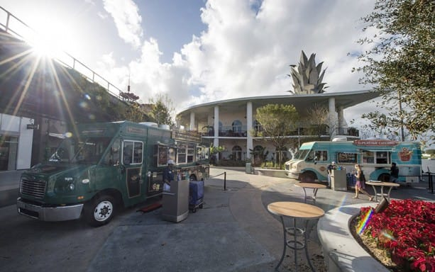 Exposition Park Opens for Disney Food Trucks at Downtown Disney