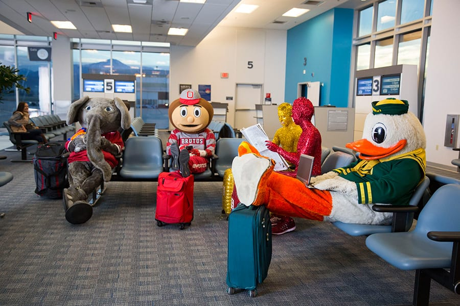 'Who Goes to Disney World?' TV Spot Features Mascots in College Football Playoff
