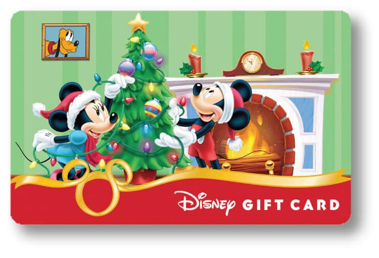 New Holiday Disney Gift Card Designs Available at Walt Disney World ...