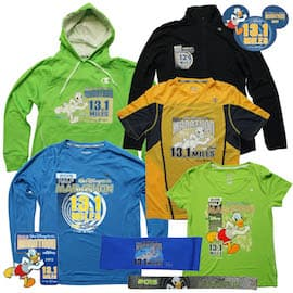 New Merchandise for the Half Marathon During the 2015 Walt Disney World Marathon Weekend
