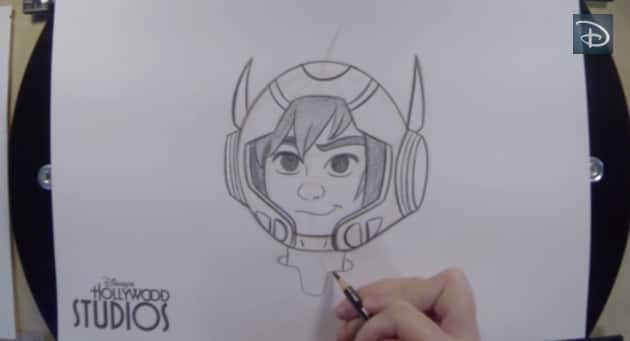 Learn to Draw Hiro from 'Big Hero 6'