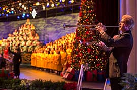 Blair Underwood 'Thrilled' To Narrate The Candlelight Processional Dec. 26-27