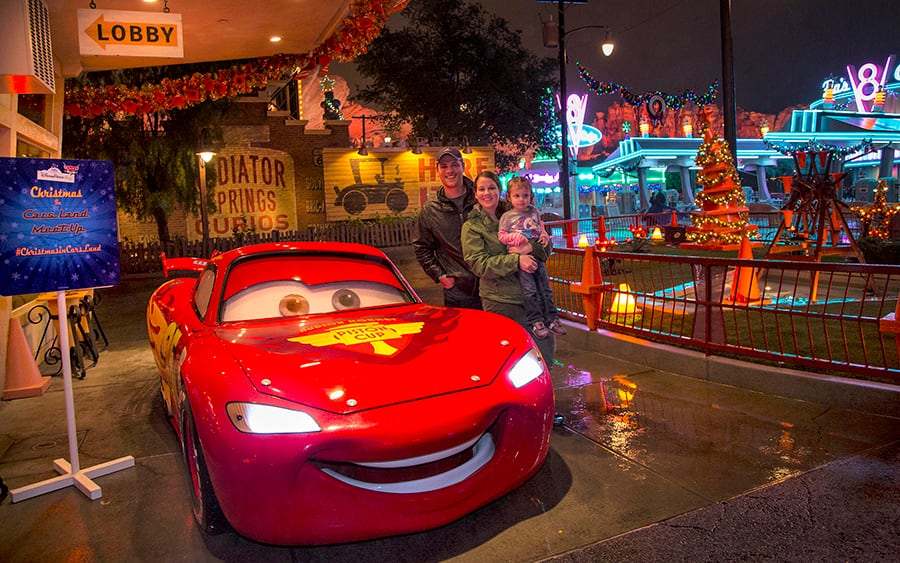 Disney Cars Christmas Decorations.Readers Cruise Into The Holidays At Disney Parks Blog