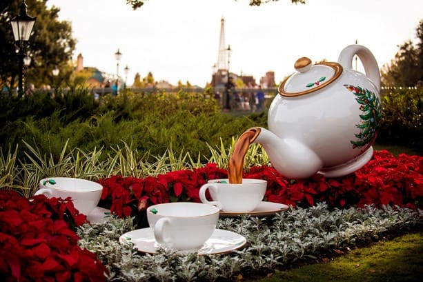 Christmas Tea at the U.K. Pavilion in Epcot