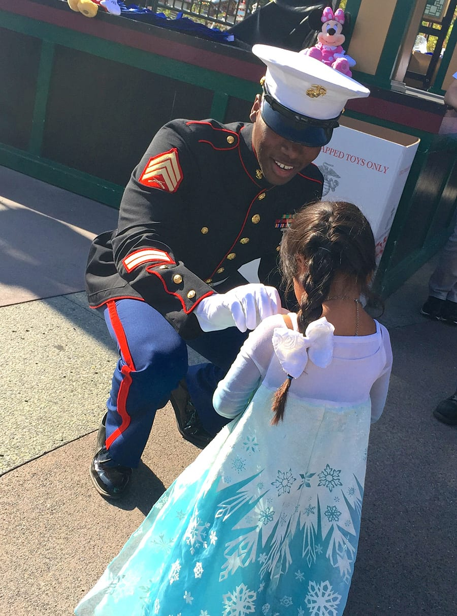 Walt Disney Parks and Resorts Supports Toys for Tots