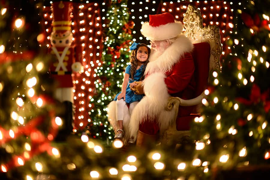 Santa Is Making the Rounds at Disney Parks