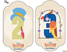 DIY: Create-Your-Own Walt Disney World Vacation Countdown