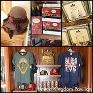 Gift Ideas From United Kingdom Pavilion in Epcot at Walt Disney World Resort