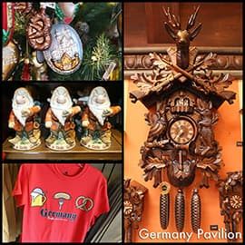 Gift Ideas From Germany Pavilion in Epcot at Walt Disney World Resort