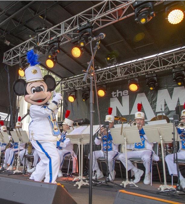 Disneyland Band NAMM