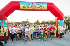 More Than 700 Compete in Inaugural Castaway Cay Challenge