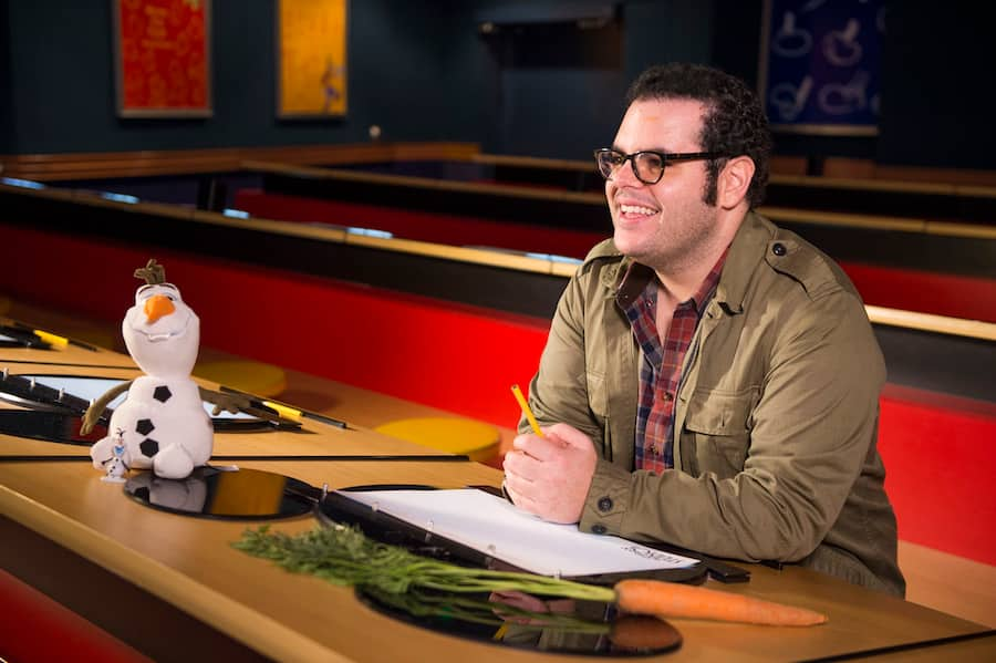 Learn to Draw Special Edition: 'Frozen' Voice Actor Josh Gad Tests His Skills at Drawing Olaf