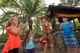 Wilderness Explorer Locations are Located Throughout Disney's Animal Kingdom