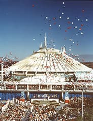 Lucie Arnaz Hosted the Space Mountain Openin Ceremony at Walt Disney World Resort in 1975