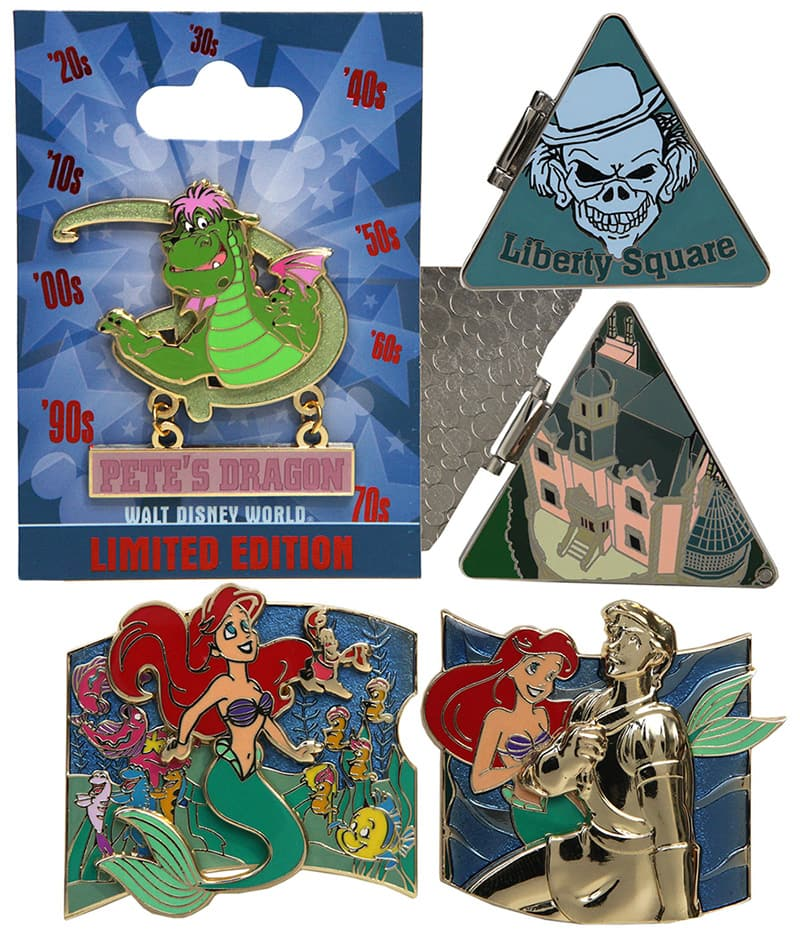 Disney Parks Under the Sea bi-monthly collection Ariel The Little Mermaid pin