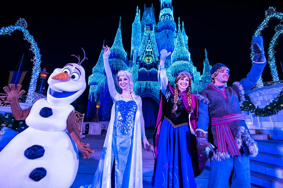 More Chances to See 'A Frozen Holiday Wish' at Magic Kingdom Park