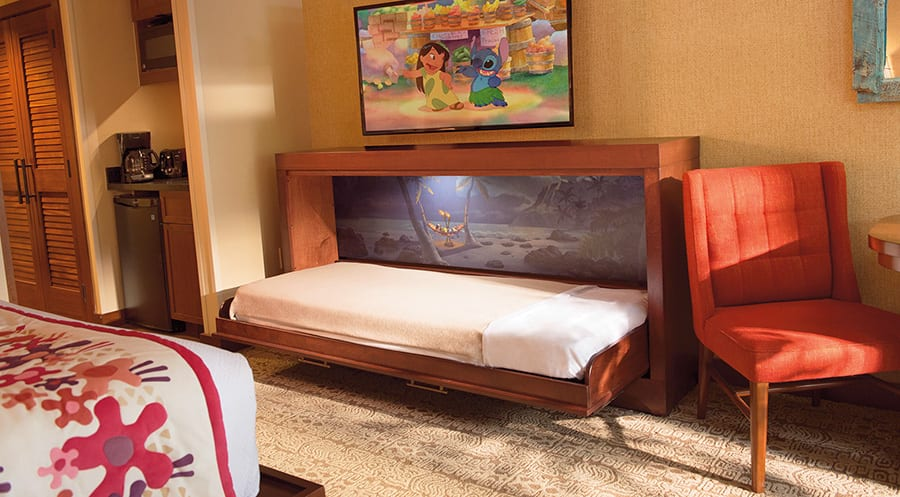 Miraculous A Secret Sleeper Bed At Disneys Polynesian Villas Unemploymentrelief Wooden Chair Designs For Living Room Unemploymentrelieforg