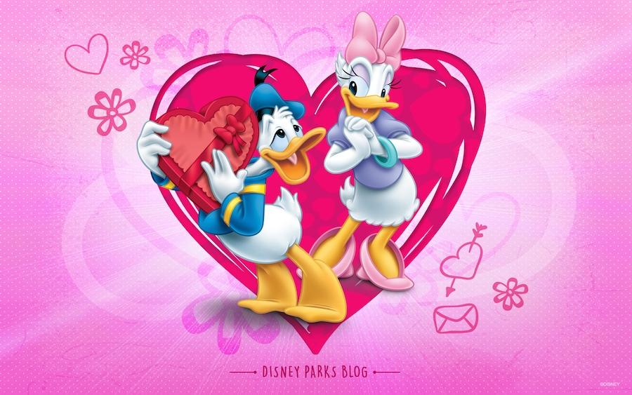 Celebrate Valentine S Day With Donald Daisy Disney Parks Blog