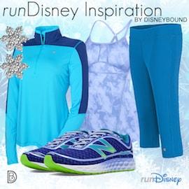 Elsa-Inspired Outfit Perfect for runDisney Disney Frozen 5K