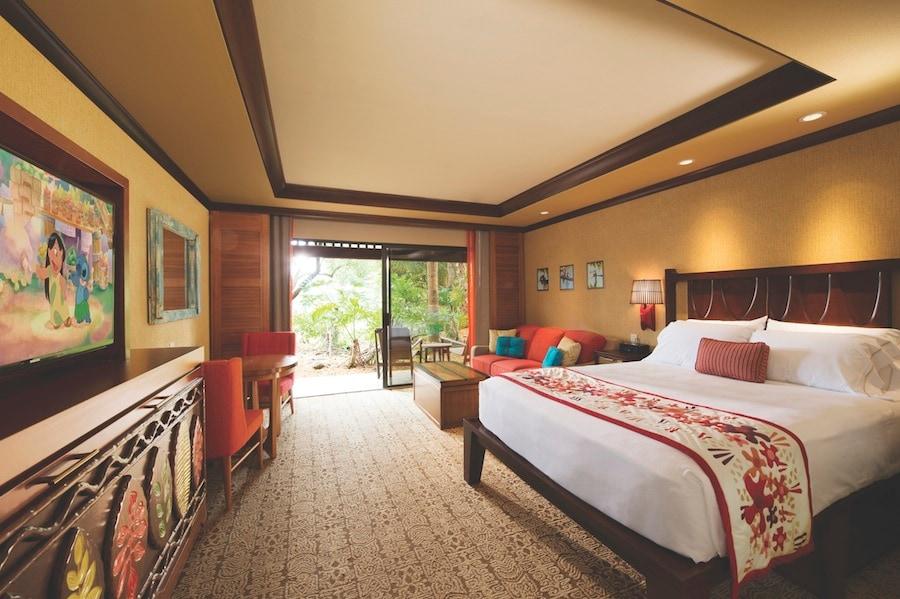 Disney Polynesian Bungalows Floor Plan: Disney's Polynesian Villas & Bungalows Offers Up Comfort