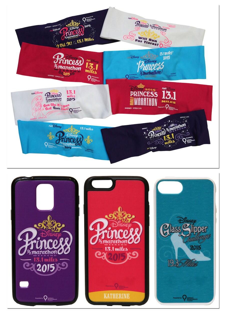 First Look at New Items for Disney Princess Half Marathon Weekend 2015 at Walt Disney World Resort