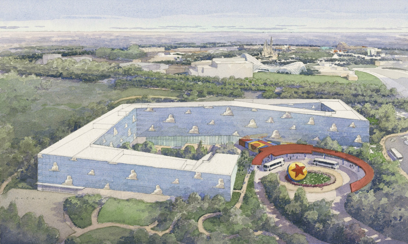 Shanghai Disney Resort Unveils and Artist Rendering for the Toy Story Hotel