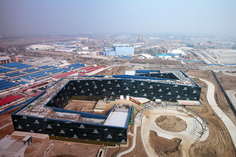 Shanghai Disney Resort Unveils Construction Images for the Toy Story Hotel