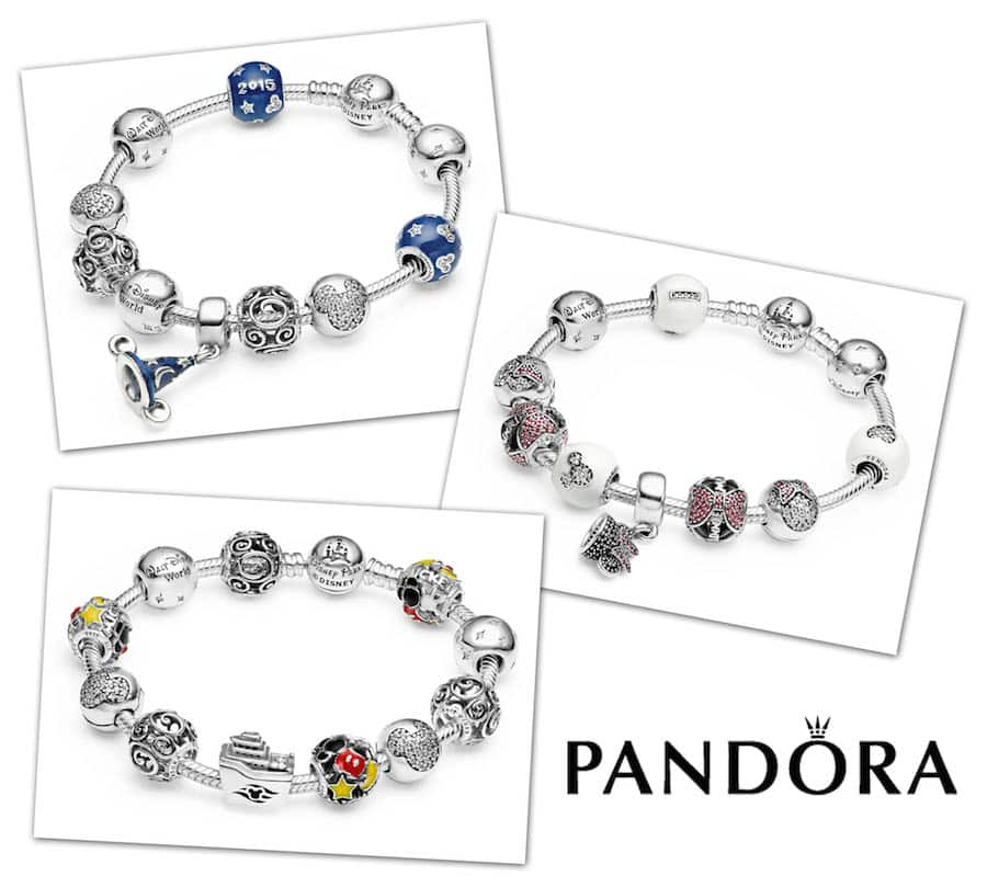 pandora charms you can only get at disney world