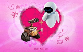 Celebrate Valentine's Day with WALL-E