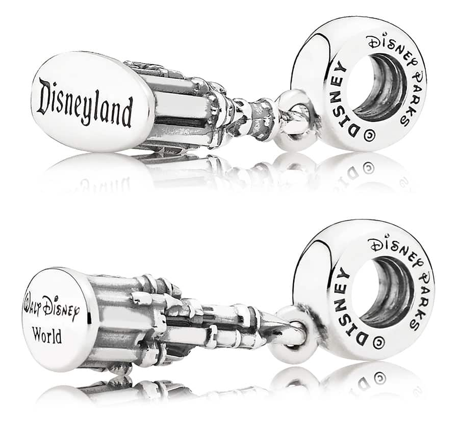 disney world park pandora charms