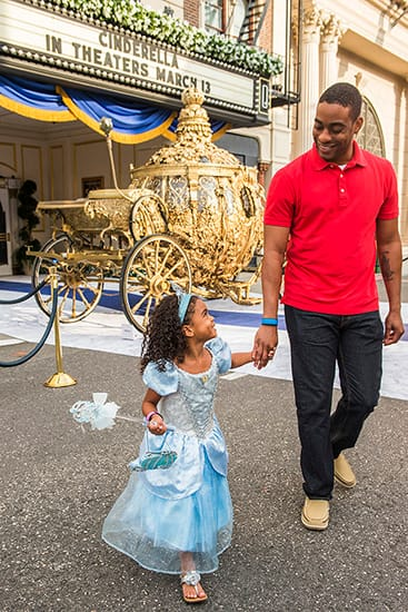 Golden Carriage from 'Cinderella' Arrives at Disney's
