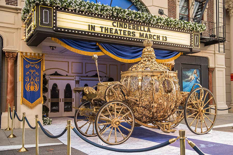 Golden Carriage from 'Cinderella' Arrives at Disney's Hollywood