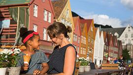 Exploring Bergen, Norway with Disney Cruise Line