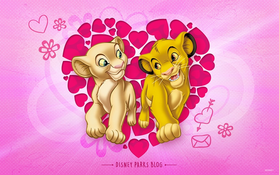 Celebrate Valentine S Day With Simba Nala Disney Parks Blog