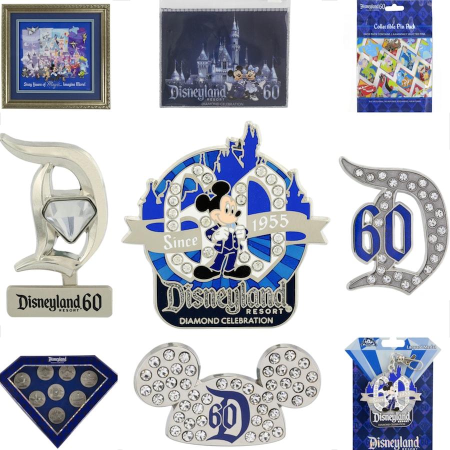 disneyland resort diamond celebration pins will dazzle you disney